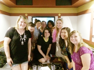 Bachelorette Party for Amy!