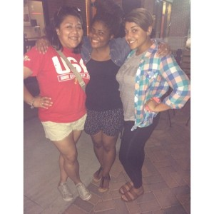 These two keep me laughing with our group text messages and random conversations. I love living life with you two.